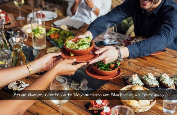 Marketing de Contenidos Restaurantes | Prospect Factory